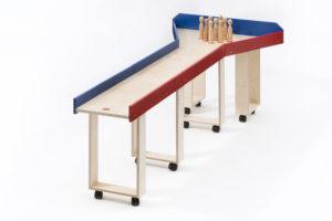 Die Holzkegelbahn Kugelmax ist eine tolle Unterhaltung in jedem Senioren- oder Altenheim. Auch für Tagespflegen und Menschen mit Behinderung geeignet.